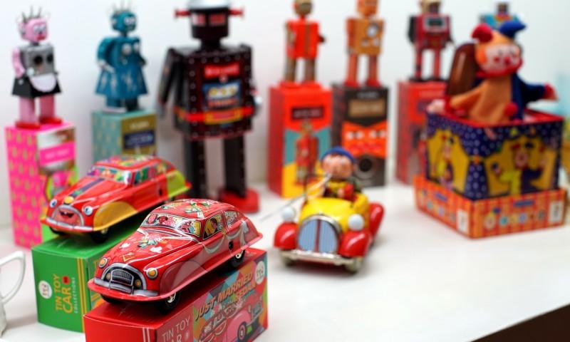 St John Tin Toys Studio Fh