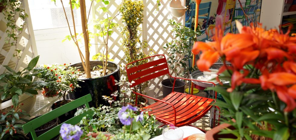 Studio FH - Fermob Luxembourg Side Bar / Trolley (Cedar